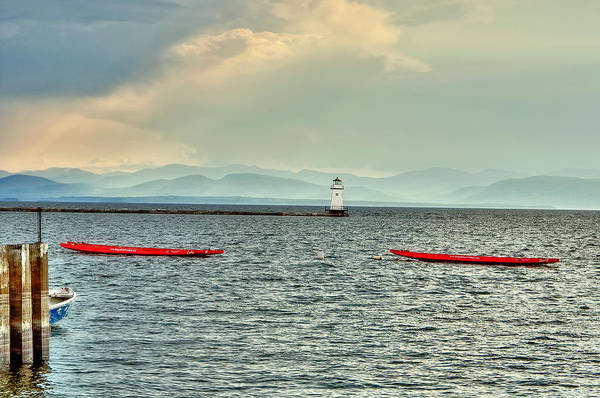 Photograph - Burlington Light by Jim Proctor