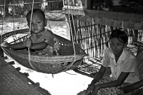 Photograph - Burmese Mother And Son by RicardMN Photography