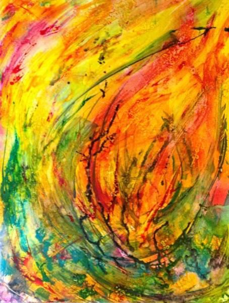 Painting - Burning Bush by Deborah Brown Maher