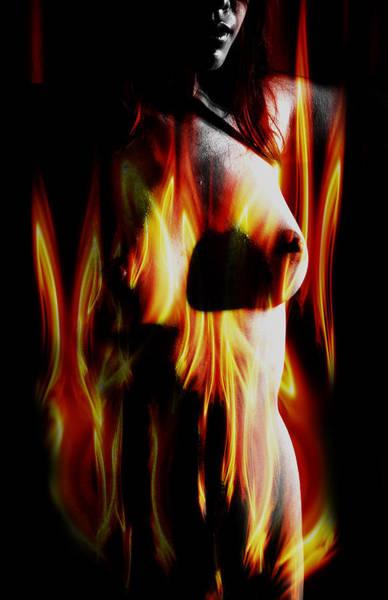 Wall Art - Digital Art - Burning Desire. by Nathan Wright