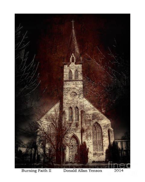 Mount Clemens Photograph - Burning Faith II by Donald Yenson
