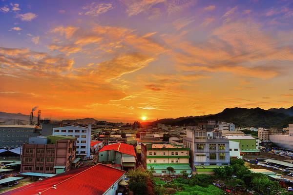 Taiwan Photograph - Burning Sky by Taiwan Nans0410