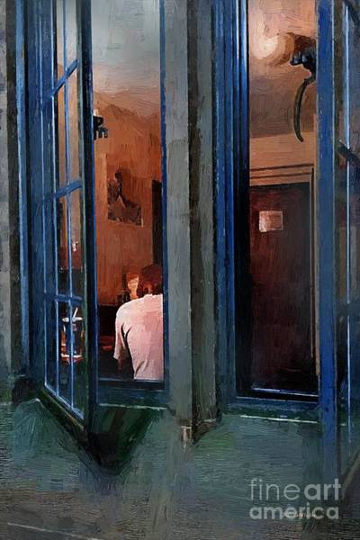 Painting - Burning The Midnight Oil by RC DeWinter