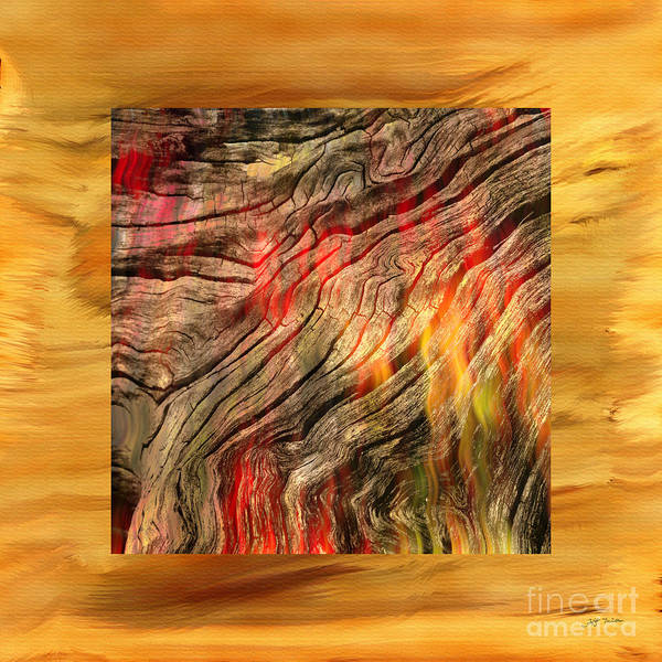 Wall Art - Photograph - Burning Wood Abstract Photograph  by Heinz G Mielke