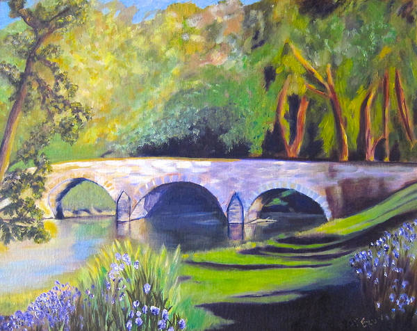 Wall Art - Painting - Burnside's Bridge At Antietam by Pat Exum