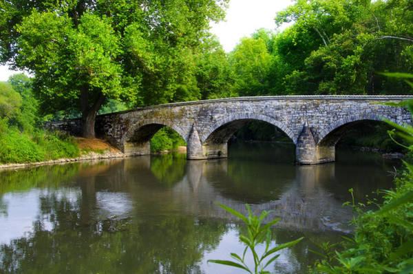 Burnside Bridge Photograph - Burnside's Bridge by Bill Cannon