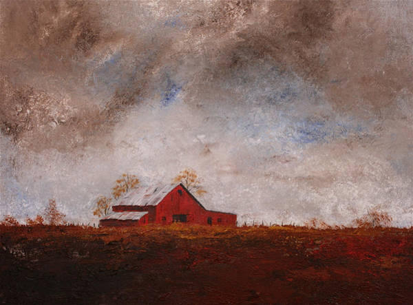 Painting - Burnt Umber Sky by William Renzulli
