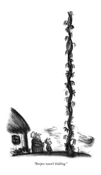 September 16th Drawing - Burpee Wasn't Kidding by Robert Kraus
