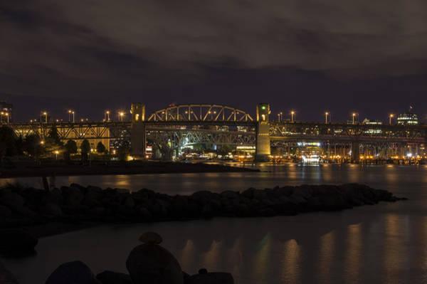 Photograph - Burrard Bridge by Ross G Strachan
