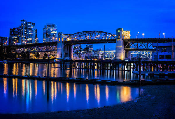 Photograph - Burrard Street Bridge by Paul W Sharpe Aka Wizard of Wonders