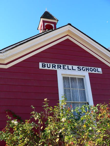 Photograph - Burrell School Wine Tasting Room by Jeff Lowe