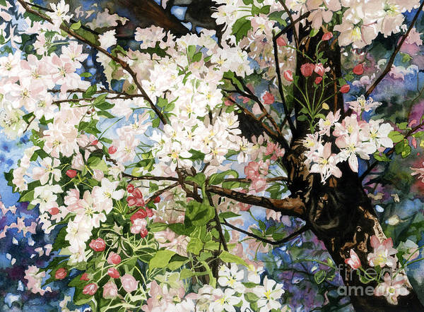 Wall Art - Painting - Burst Of Spring by Barbara Jewell