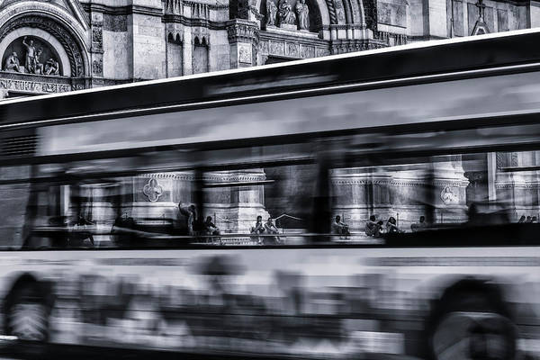 Traffic Wall Art - Photograph - Bus In Bologna by Jean-louis Viretti