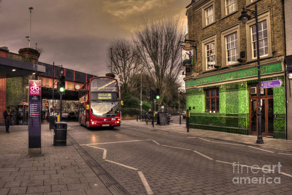 Autobus Photograph - Bus N Pub  by Rob Hawkins