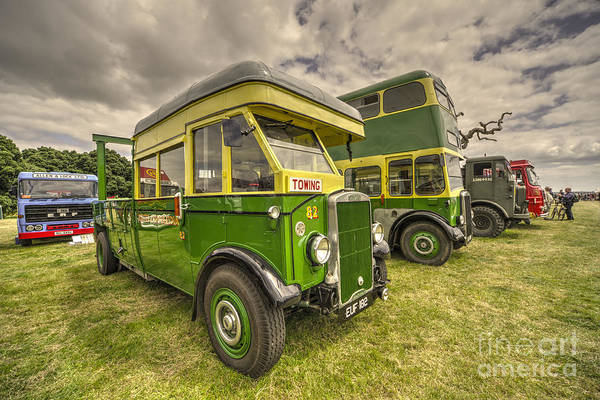 Wall Art - Photograph - Bus Tow Truck  by Rob Hawkins