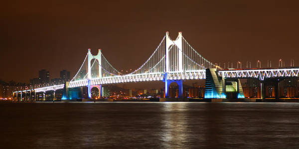Photograph - Busan Bridge by Brad Brizek