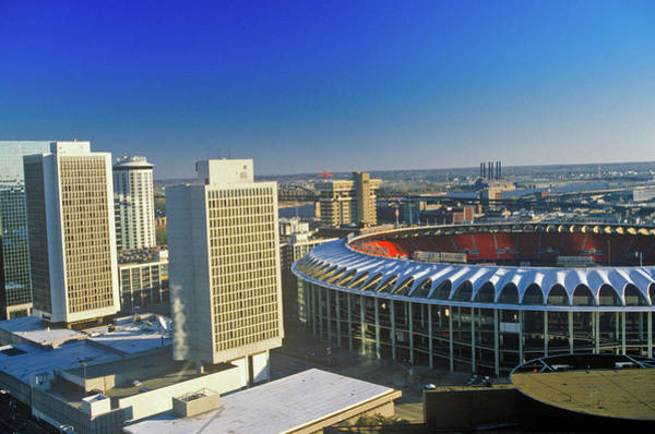 Busch Photograph - Busch Stadium, Downtown St. Louis, Mo by Panoramic Images