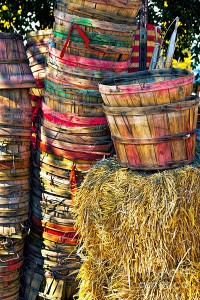 Photograph - Bushel Baskets by Richard Lynch
