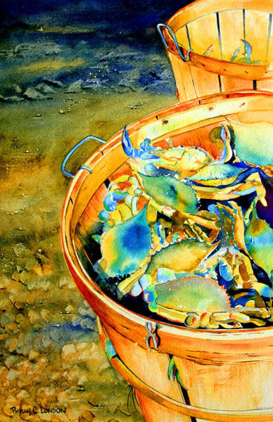 Painting - Bushel Of Gold by Phyllis London