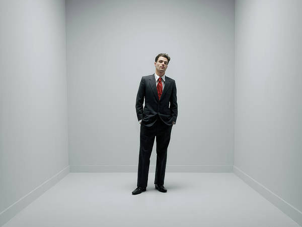 Office Manager Wall Art - Photograph - Businessman by Howard George/science Photo Library
