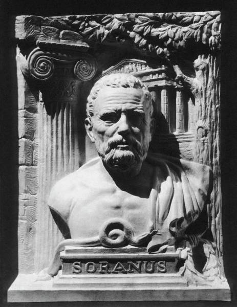 Methodist Photograph - Bust Of Soranus Of Ephesus by National Library Of Medicine/science Photo Library