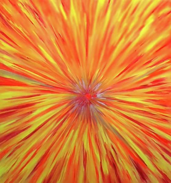 Painting - Busta Surprise by Cyryn Fyrcyd