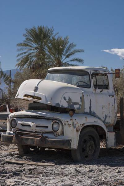 Heavy Duty Truck Wall Art - Photograph - Busted B600 Truck by Scott Campbell