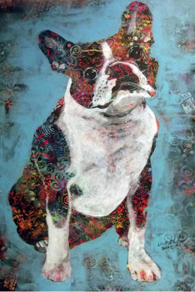 Painting - Buster by Laurel Bahe