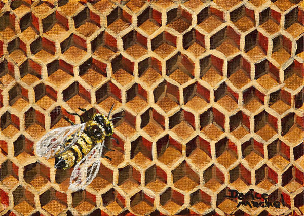 Painting - Busy Bee by Darice Machel McGuire