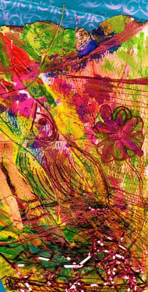 Twig Mixed Media - Busy Busy by Anne-Elizabeth Whiteway