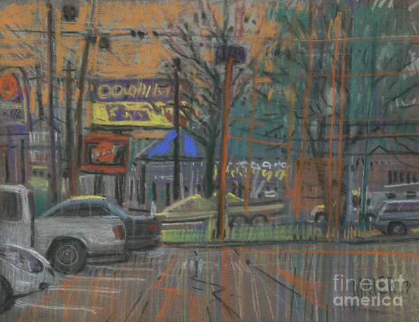 Fast Food Wall Art - Painting - Busy Day by Donald Maier