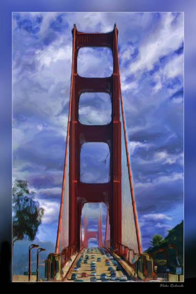 Photograph - Busy Time On The Golden Gate by Blake Richards