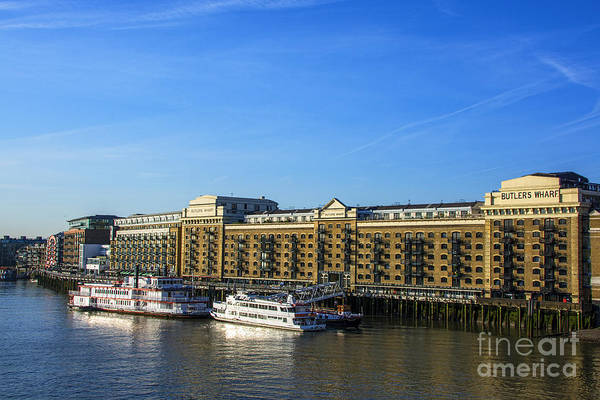 Bankside Photograph - Butlers Wharf by Chris Thaxter