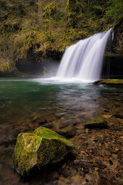 Photograph - Butte Creek Falling by Brian Bonham