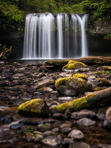 Photograph - Butte Creek Falls by Brian Bonham
