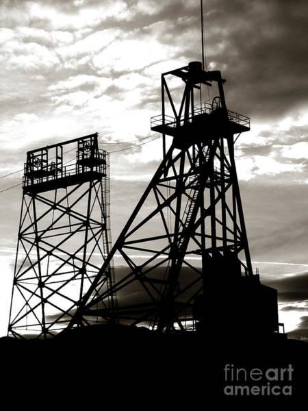 Montana Photograph - Butte Montana Headframe by David Bearden