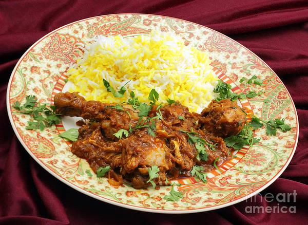 Photograph - Butter Chicken Masala Meal by Paul Cowan