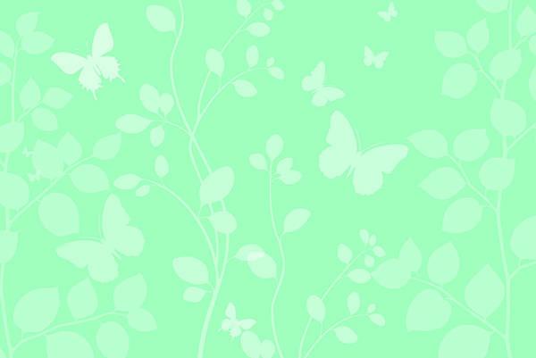 Blue Bug Digital Art - Butterfies by Chastity Hoff
