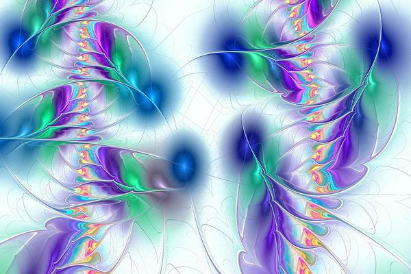 Digital Art - Butterflies by Anastasiya Malakhova