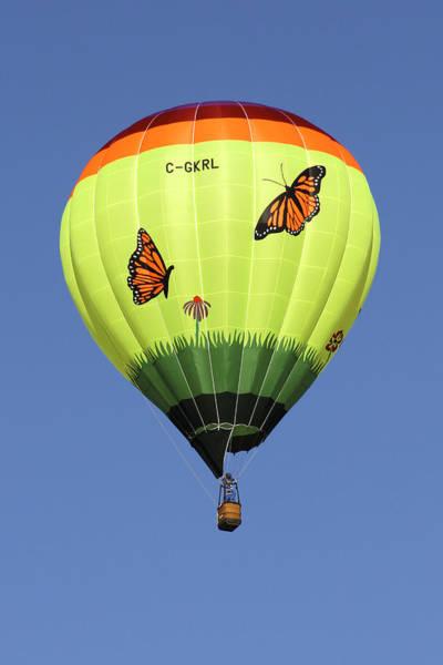 Balloon Festival Photograph - Butterflies  by Mike McGlothlen