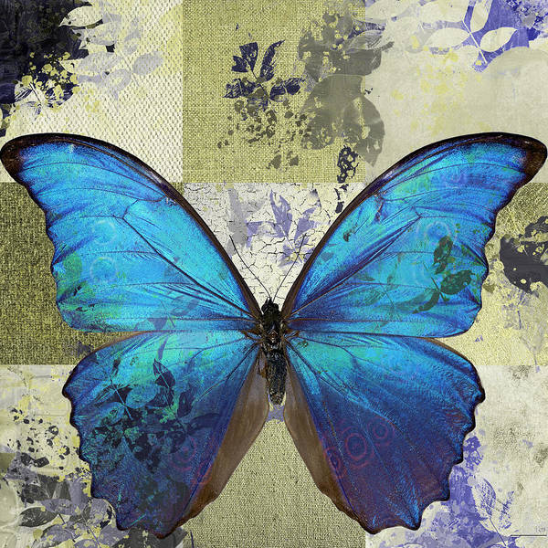 Wall Art - Digital Art - Butterfly Art - S02b by Variance Collections