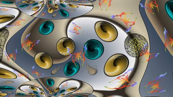 Digital Art - Butterfly Fractal Palette by Vincent Autenrieb