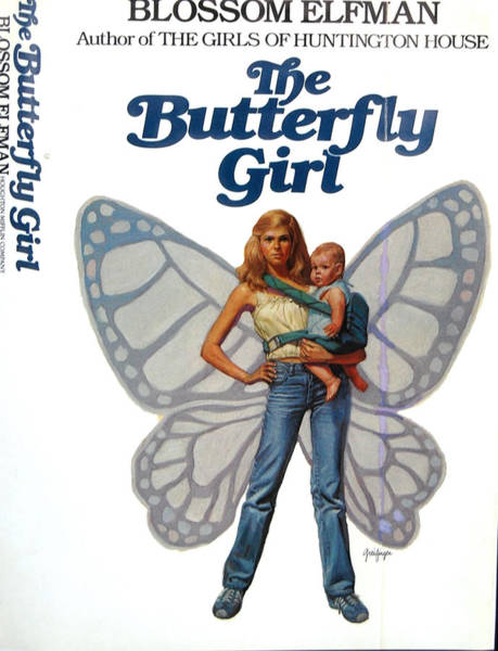 Painting - Butterfly Girl by Mel Greifinger