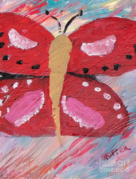 Mojo Painting - Butterfly Julie by PainterArtist FIN