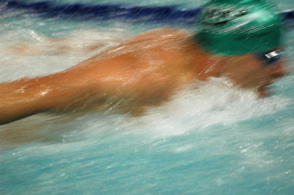 Photograph - Butterfly Swimmer by Rob Huntley