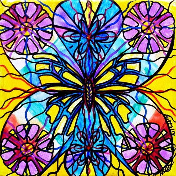 Allopathy Wall Art - Painting - Butterfly by Teal Eye Print Store