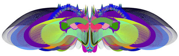 Butterfly - Ticker Symbol Csco Art Print