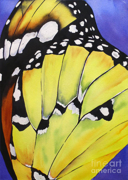 Painting - Butterfly Wing by Glenyse Henschel