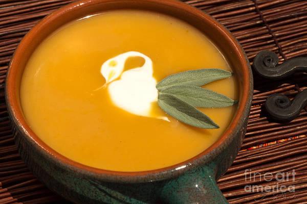 Wall Art - Photograph - Butternut Squash Soup by Iris Richardson