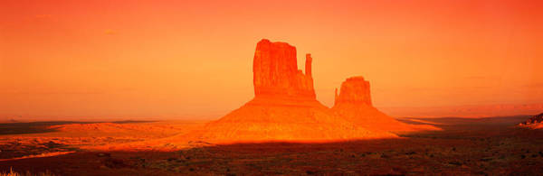 The Mitten Photograph - Buttes At Sunrise, The Mittens by Panoramic Images